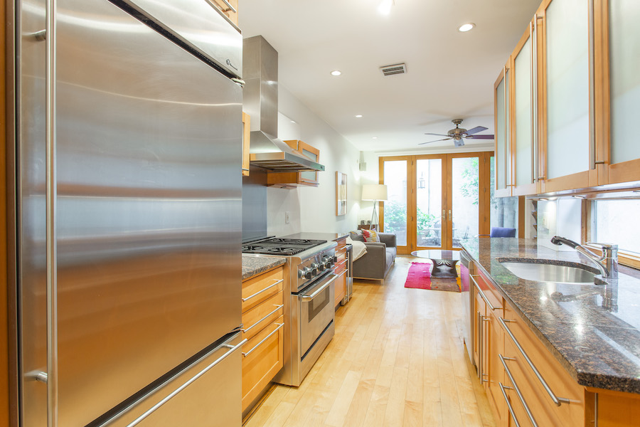 house for sale queen village historic trinity kitchen