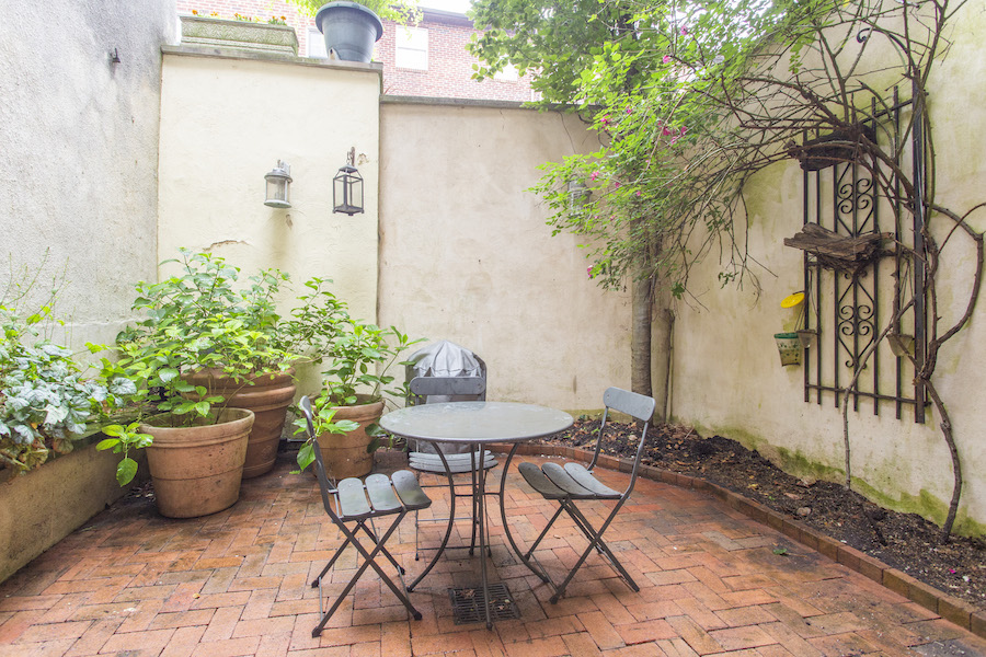 house for sale queen village historic trinity rear patio