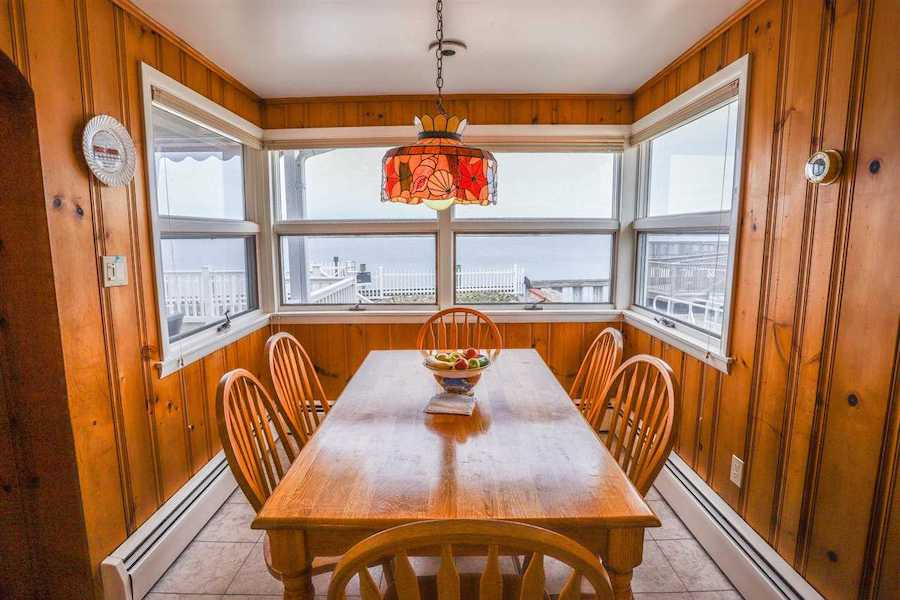 house for sale stone harbor midcentury ranch breakfast room
