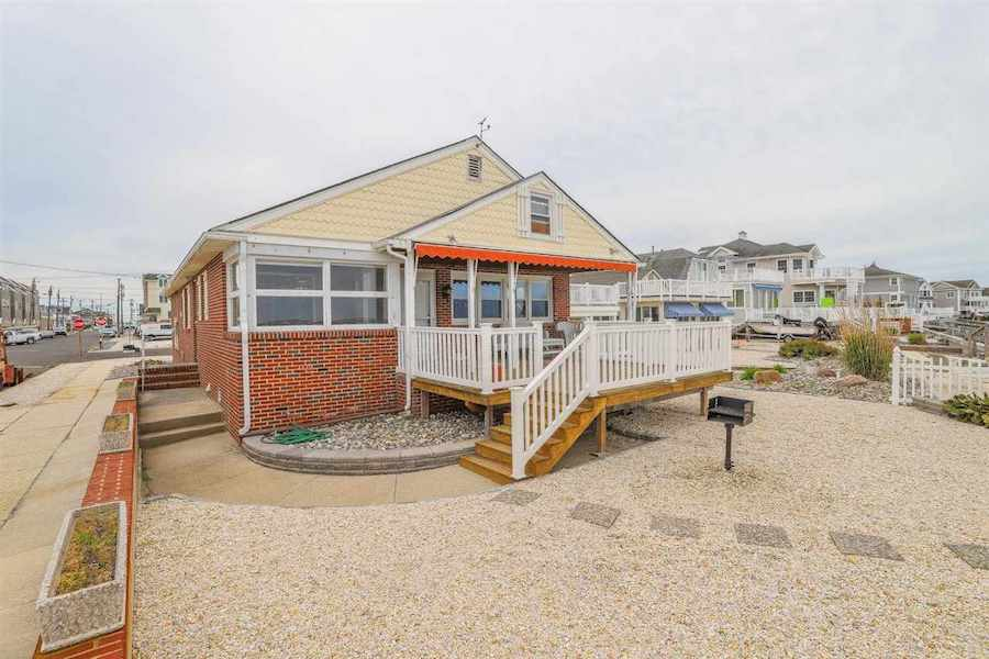 house for sale stone harbor midcentury ranch exterior front
