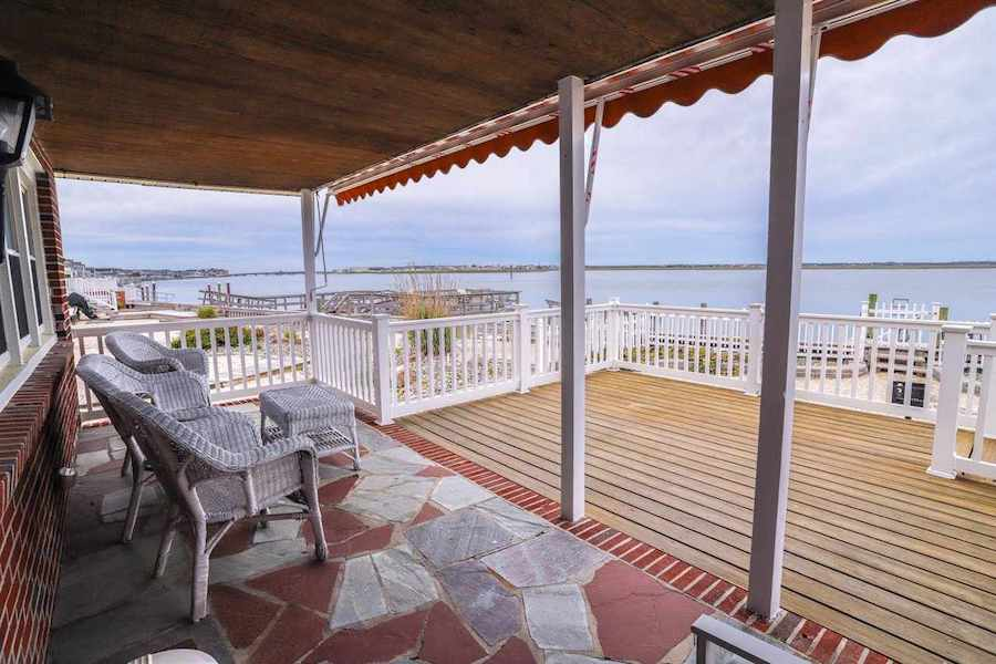 house for sale stone harbor midcentury ranch front porch