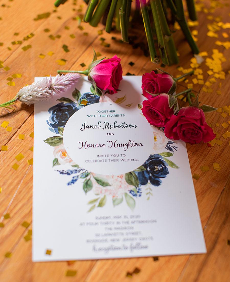 New Jersey backyard wedding
