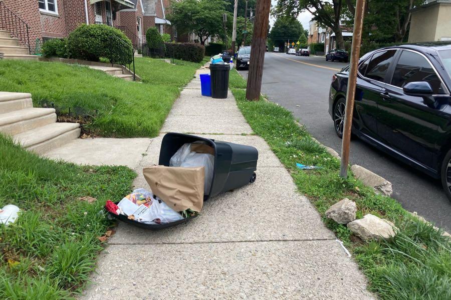 philadelphia trash pickup