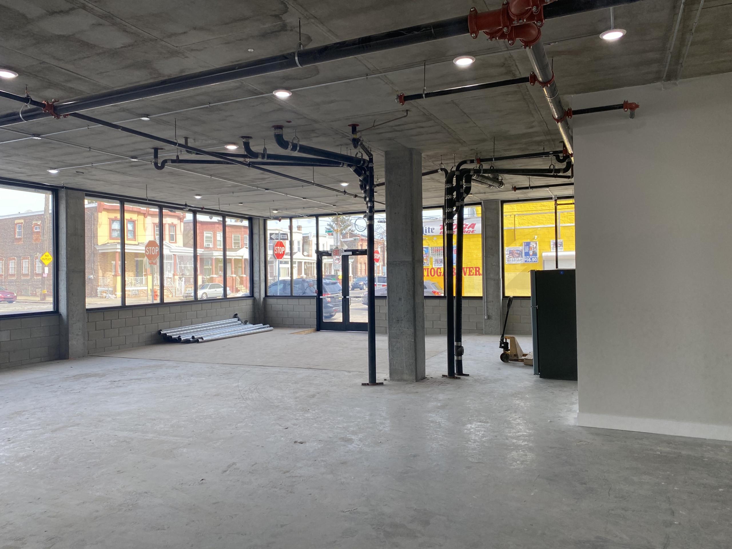 street-floor commercial space