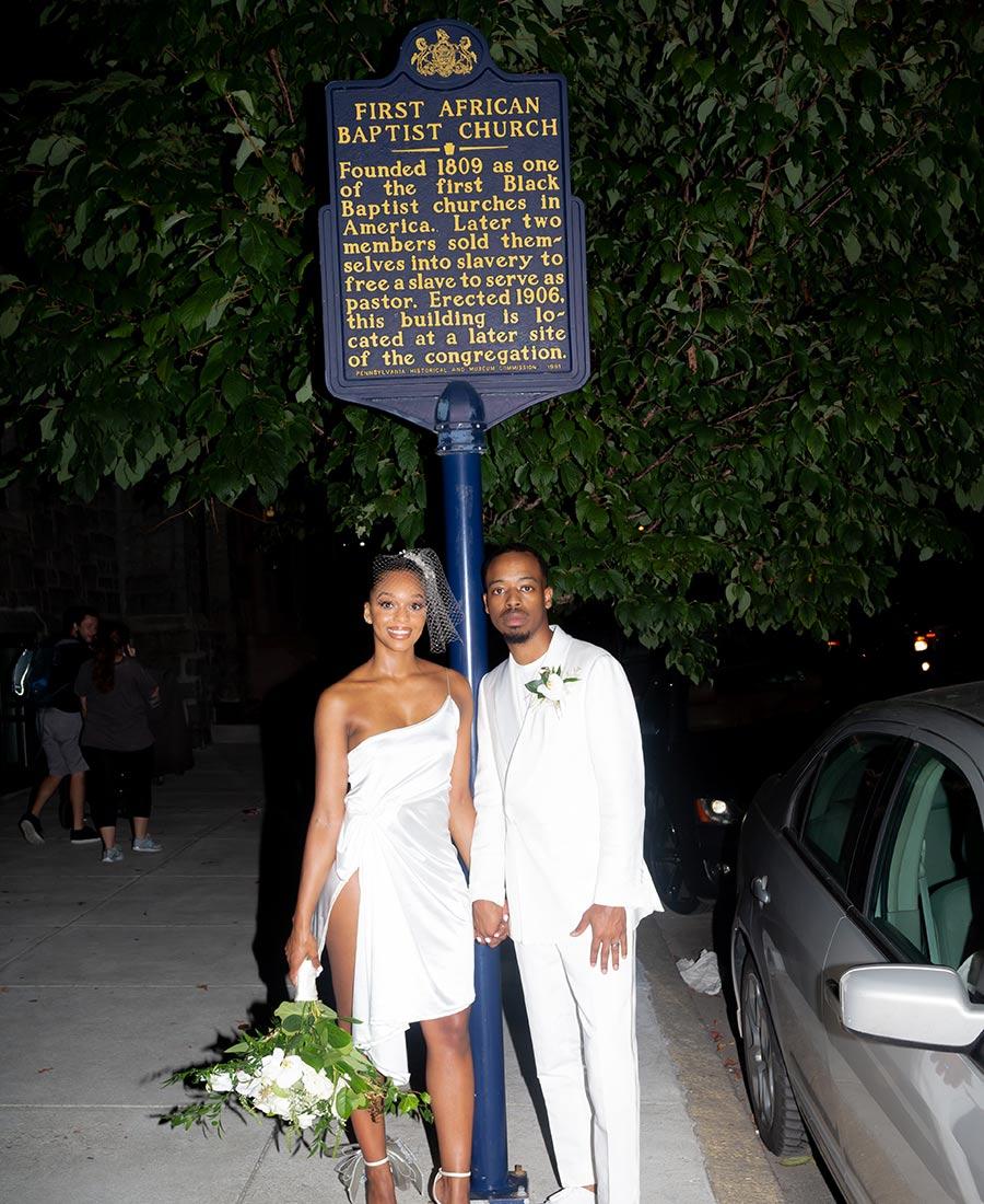 The Deacon hotel micro-wedding