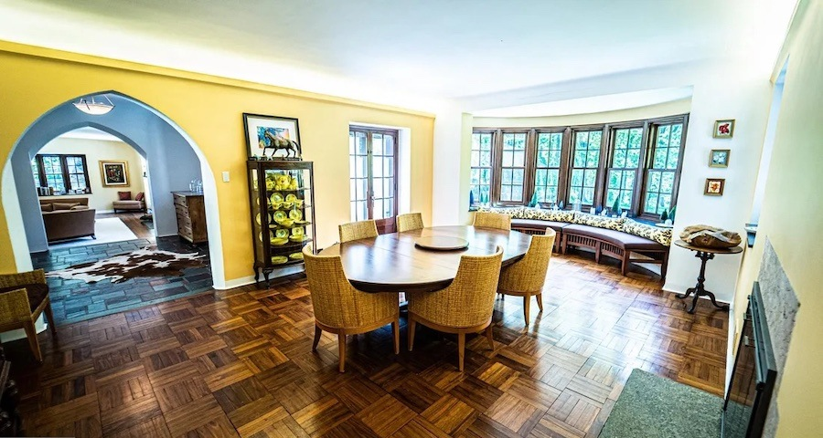 house for sale East Falls Norman manor dining room