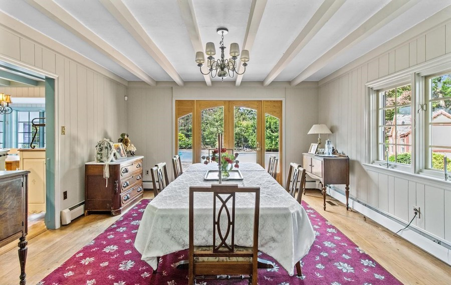house for sale huntingdon valley expanded farmhouse formal dining room