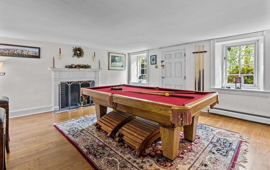 house for sale huntingdon valley expanded farmhouse parlor