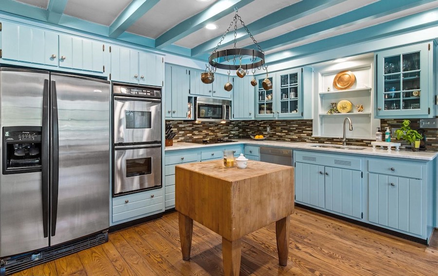 house for sale huntingdon valley expanded farmhouse kitchen