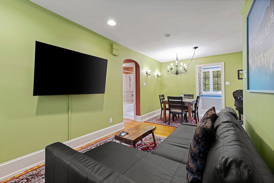 Accessory apartment living/dining room