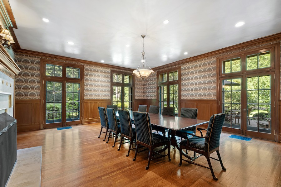 house for sale Merion Station Italianate dining room