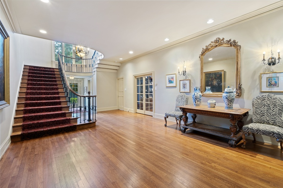 house for sale Merion Station Italianate foyer and entrance hall