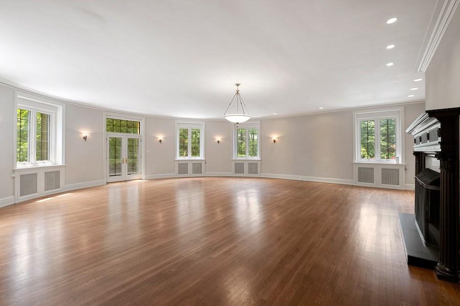 house for sale Merion Station Italianate living room