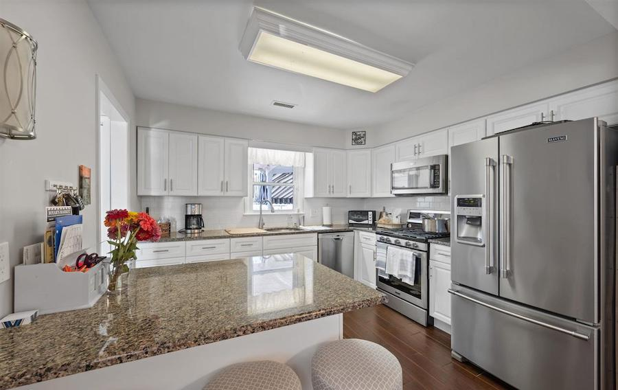 houses for sale Ocean City waterfront duo 4 Granada Court kitchen