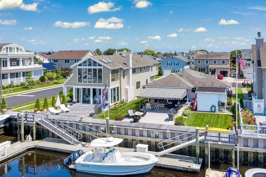 houses for sale Ocean City waterfront duo exteriors water view