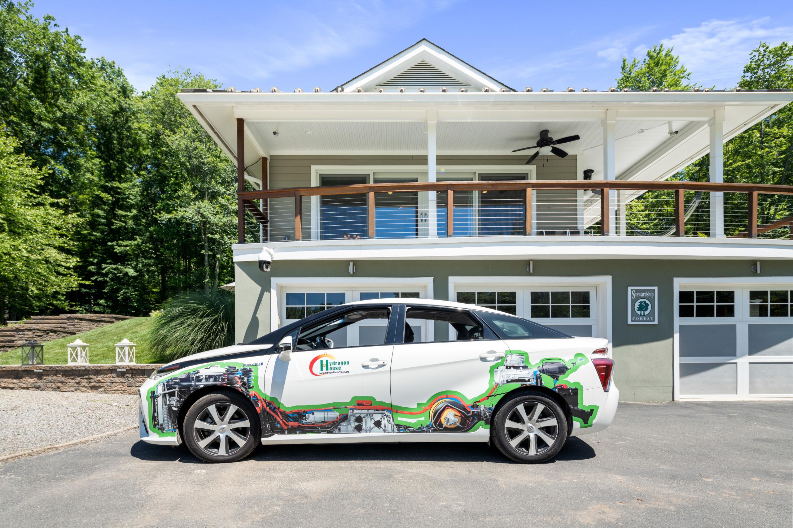 house for sale Pennington off-grid hydrogen-powered car