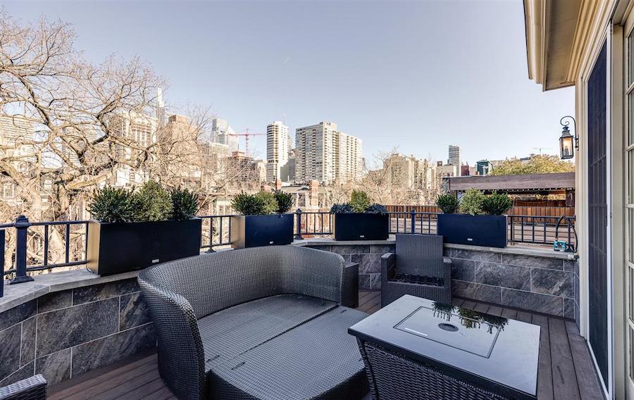 fourth-floor terrace