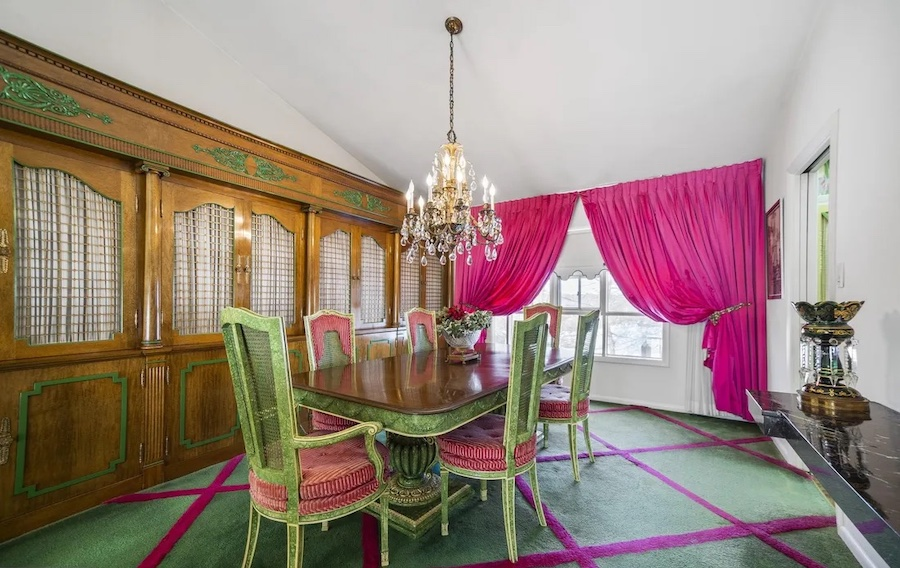 house for sale rydal mid-century split-level dining room