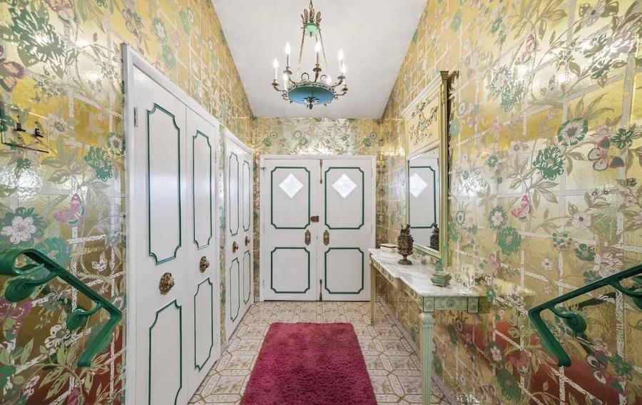 house for sale rydal mid-century split-level foyer