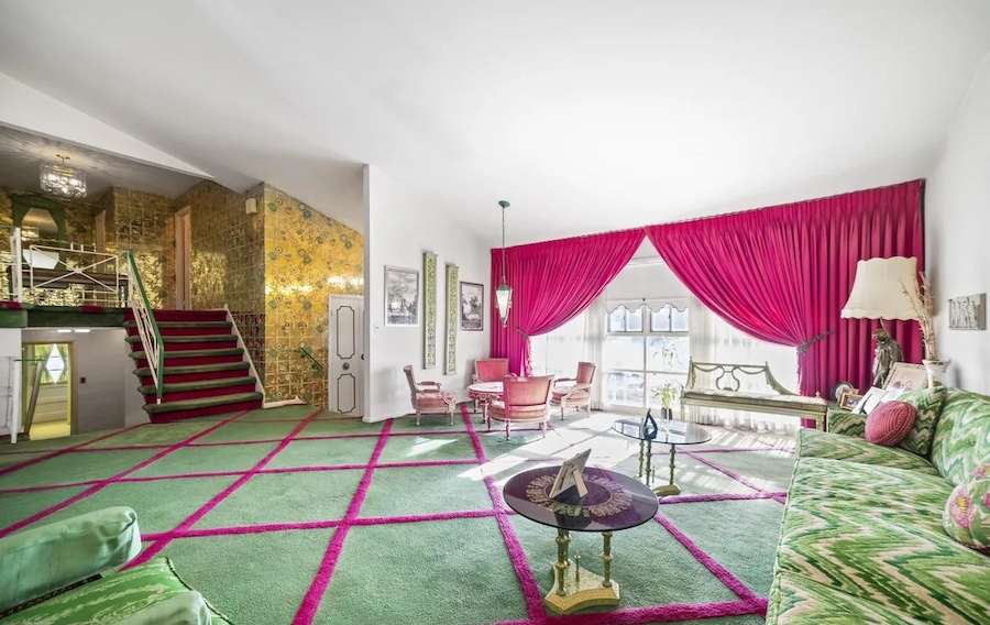 house for sale rydal mid-century split-level living room