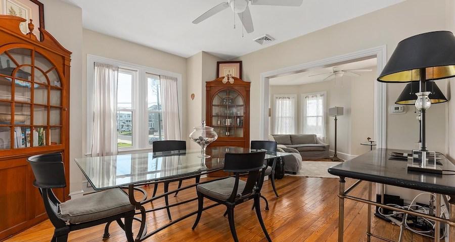 house for sale sea isle city shingle style dining room