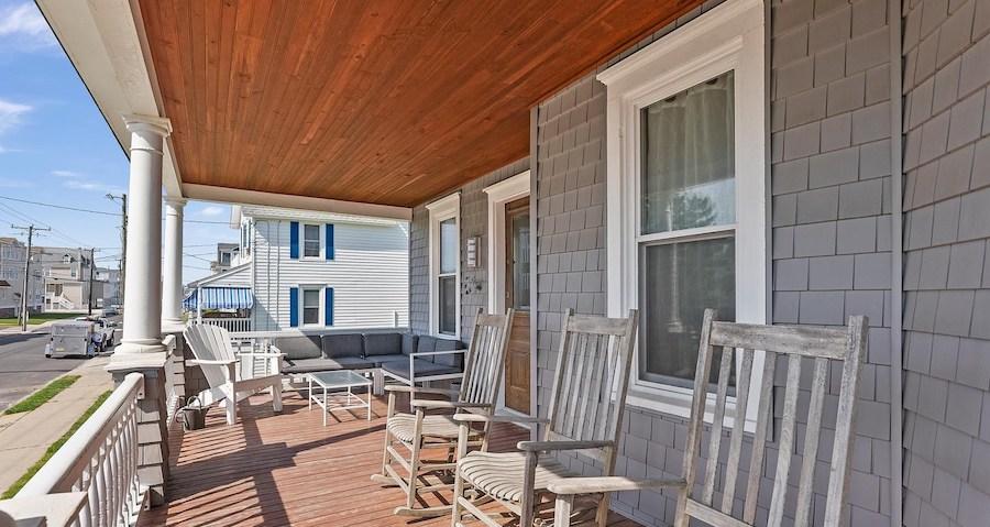 house for sale sea isle city shingle style porch
