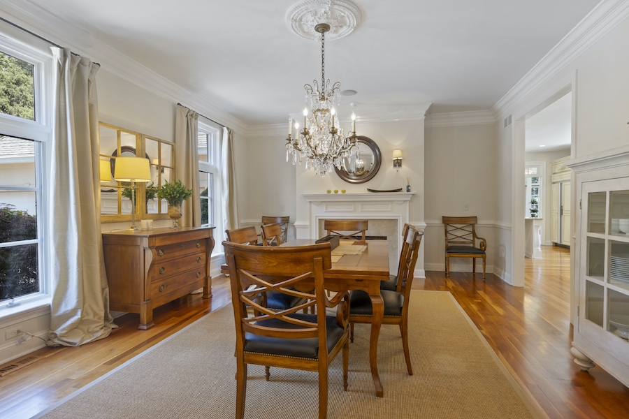 house for sale Greenville Norman manor formal dining room