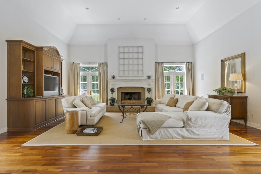 house for sale Greenville Norman manor great room