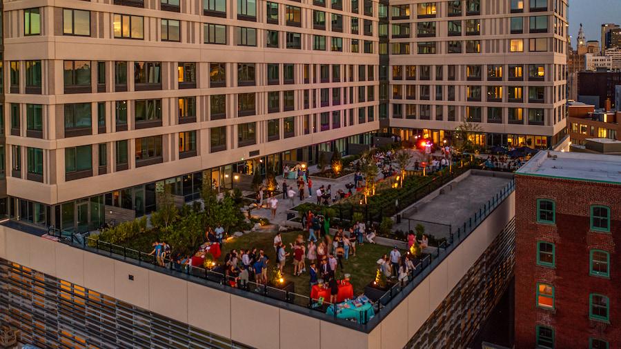broadridge opening opening party on east terrace