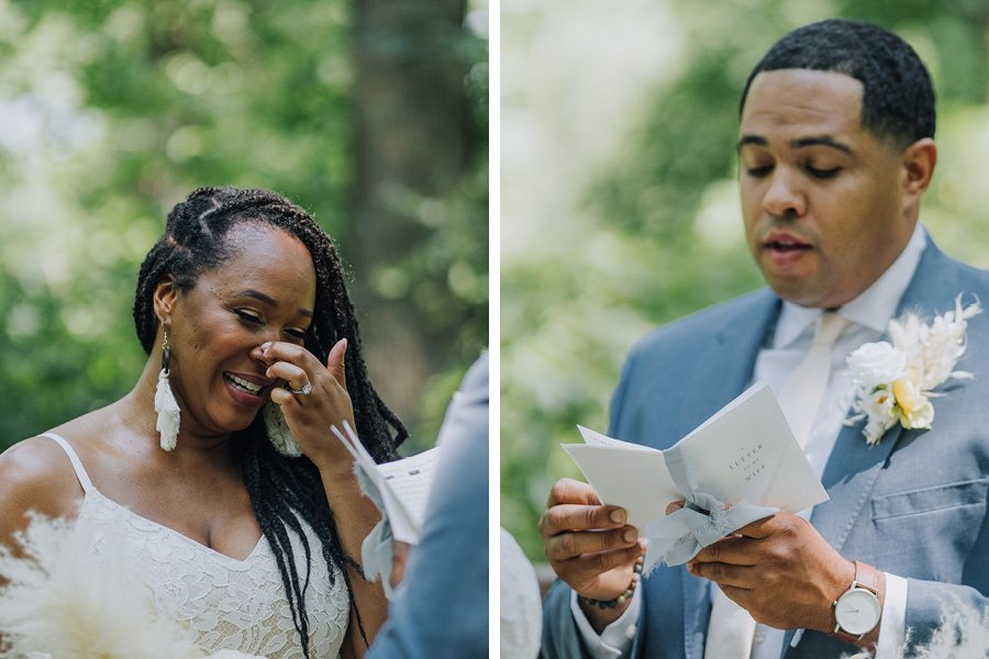 northeast philly block-party wedding