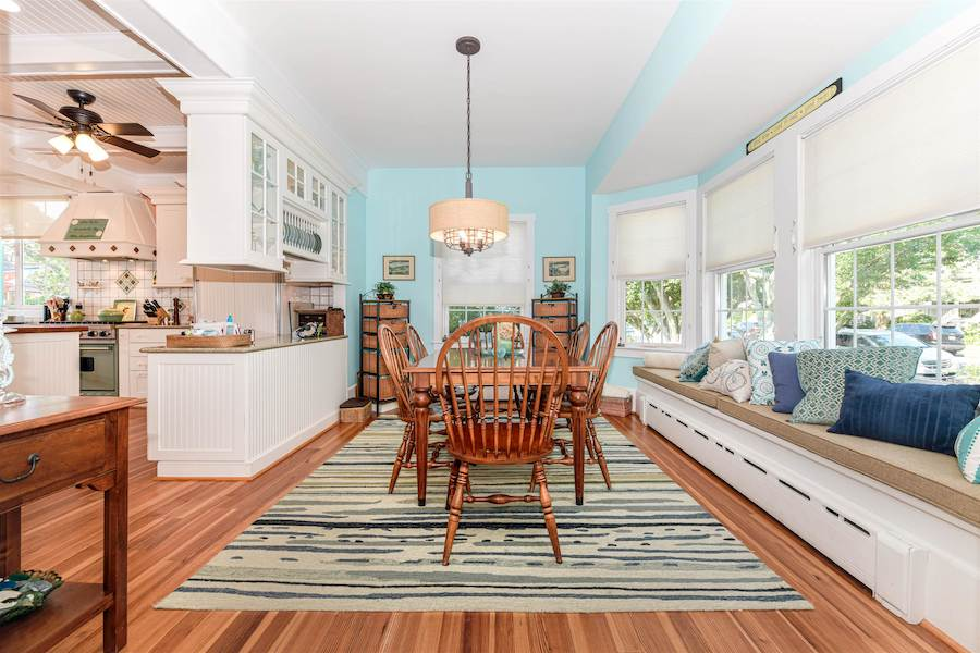 house for sale historic Cape May Victorian dining room