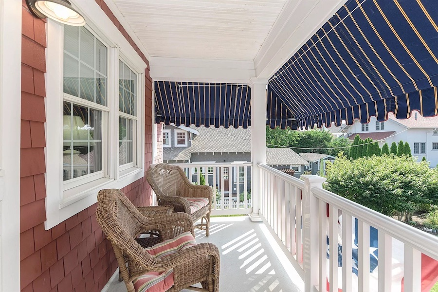 primary suite porch