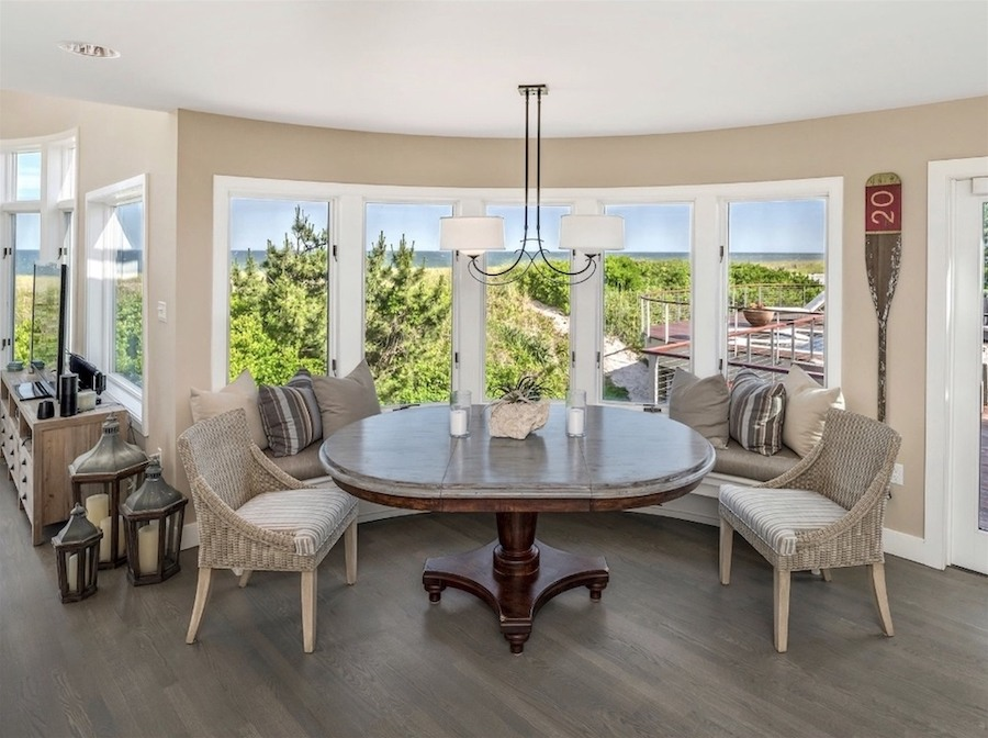 house for sale loveladies modern mansion by the sea breakfast nook