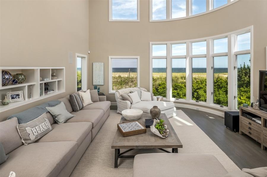 house for sale loveladies modern oceanfront mansion living room