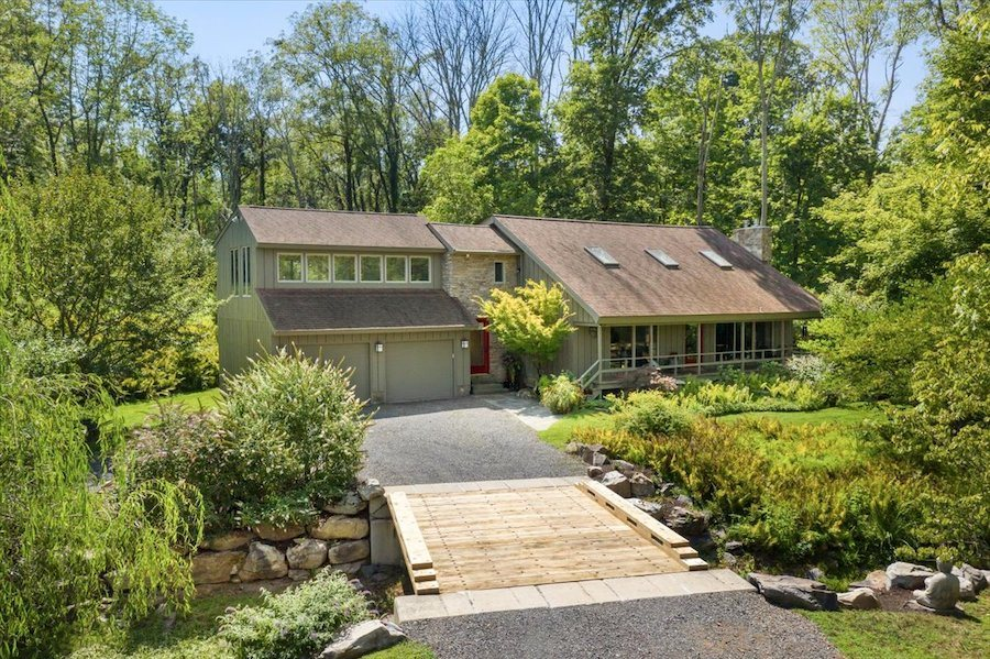 house for sale new hope midcentury modern