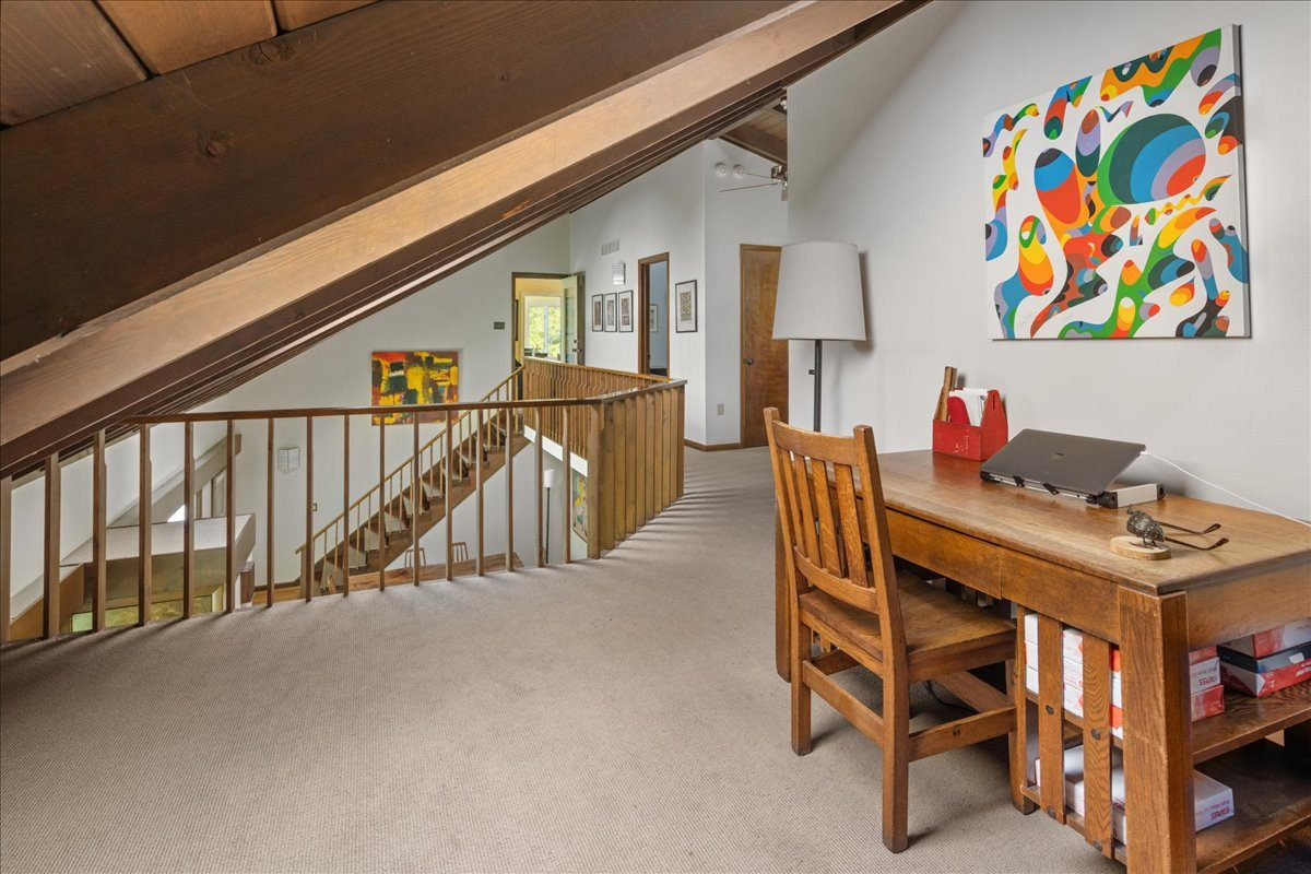 house for sale new hope midcentury modern study