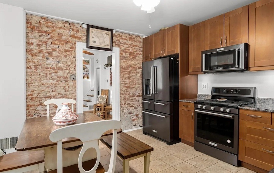 house for sale queen village double trinity kitchen