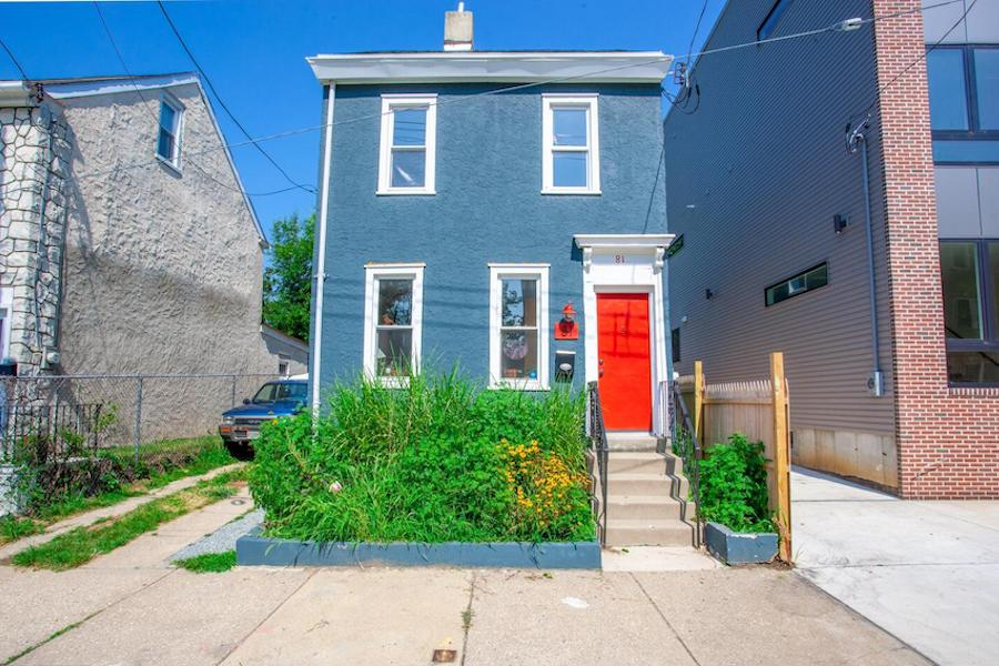 renovated mt. airy house for sale front elevation