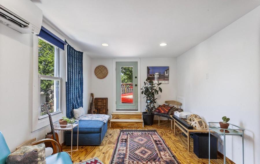 second-floor living room