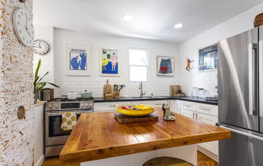 renovated mt. airy house for sale kitchen