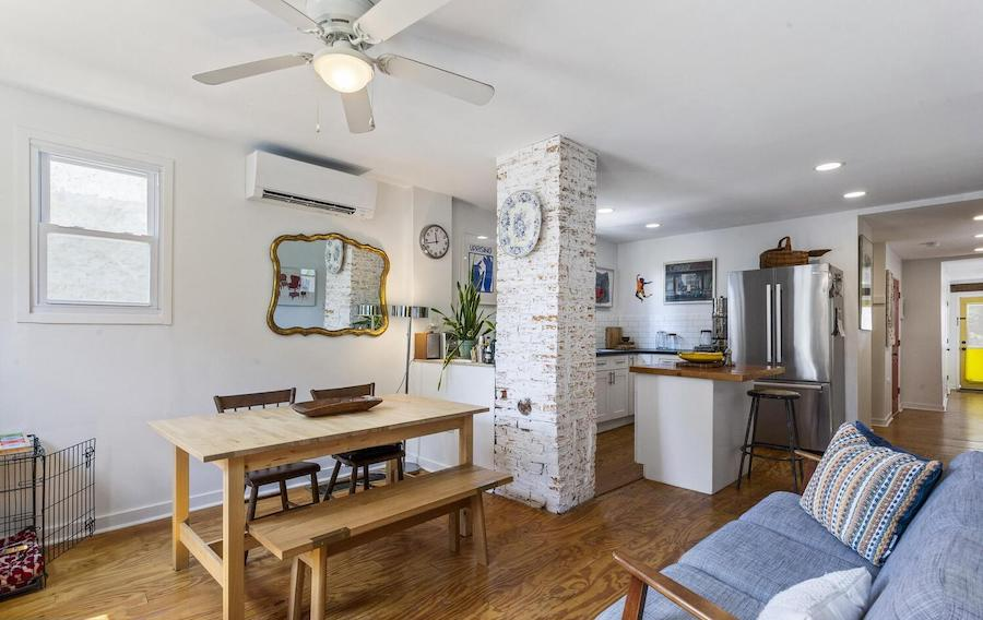 renovated mt. airy house for sale main floor