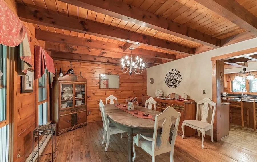house for sale Stowe custom farmhouse dining room