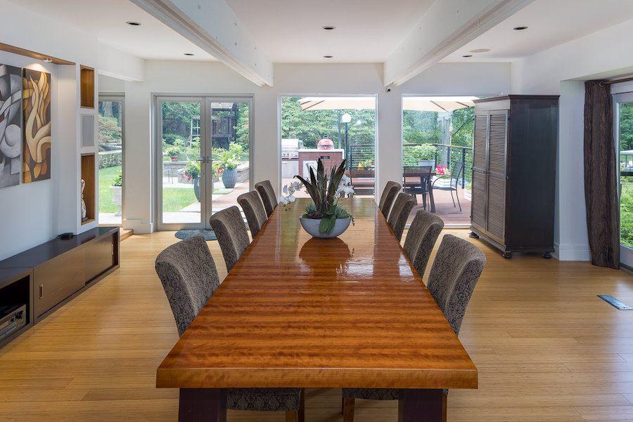 home for sale Wayne Mid-Century Modern Dining Room