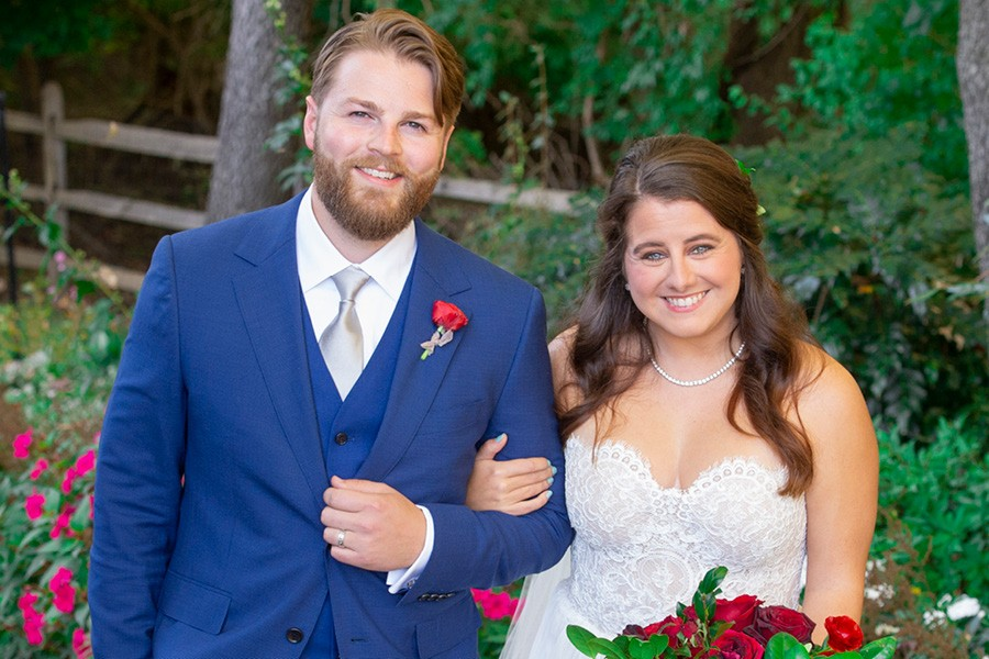 Newtown Square backyard wedding