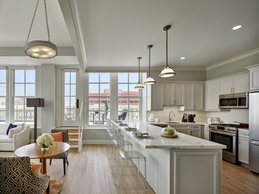 the Curtis penthouse profile kitchen