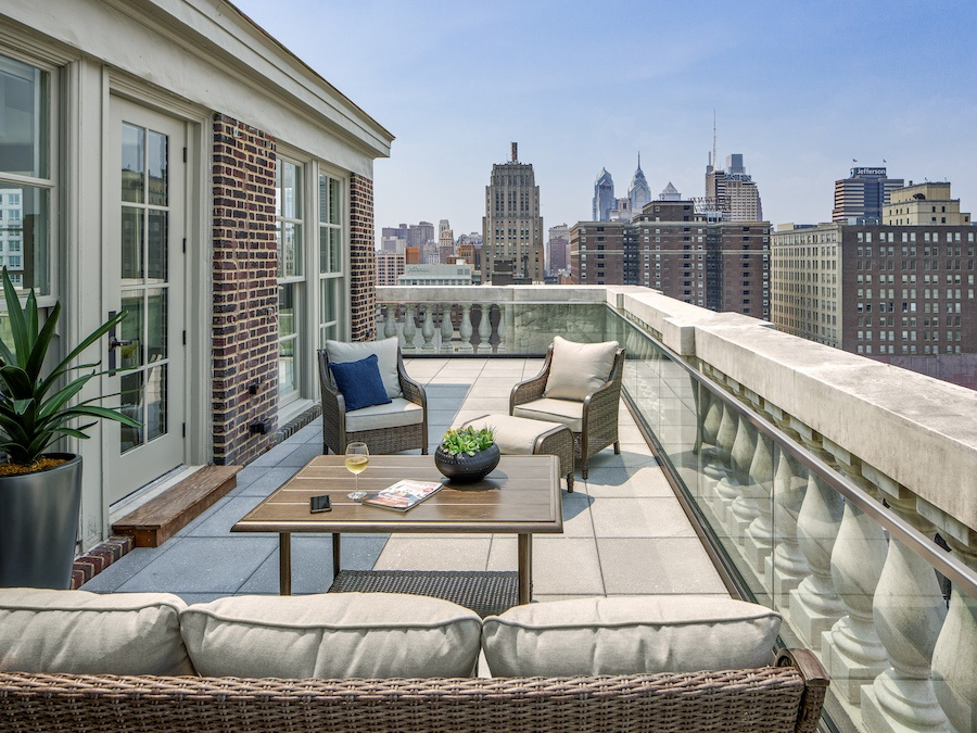 the Curtis penthouse profile penthouse apartment terrace