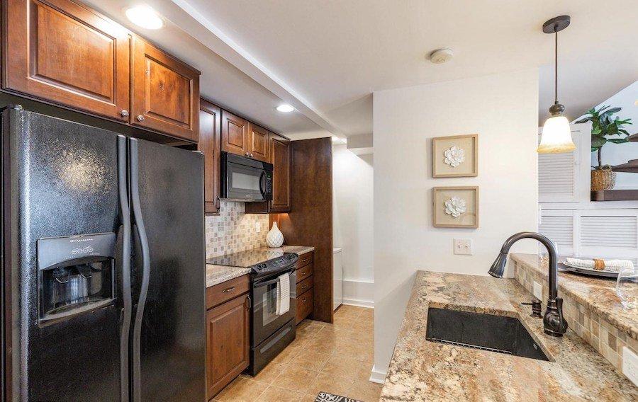 condo for sale bella vista historic loft kitchen