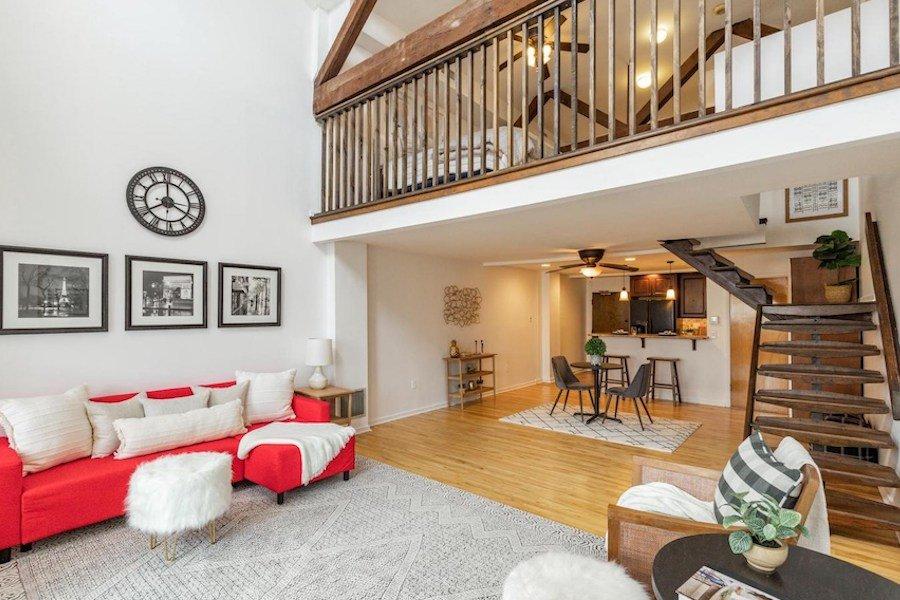 condo for sale bella vista historic loft main floor