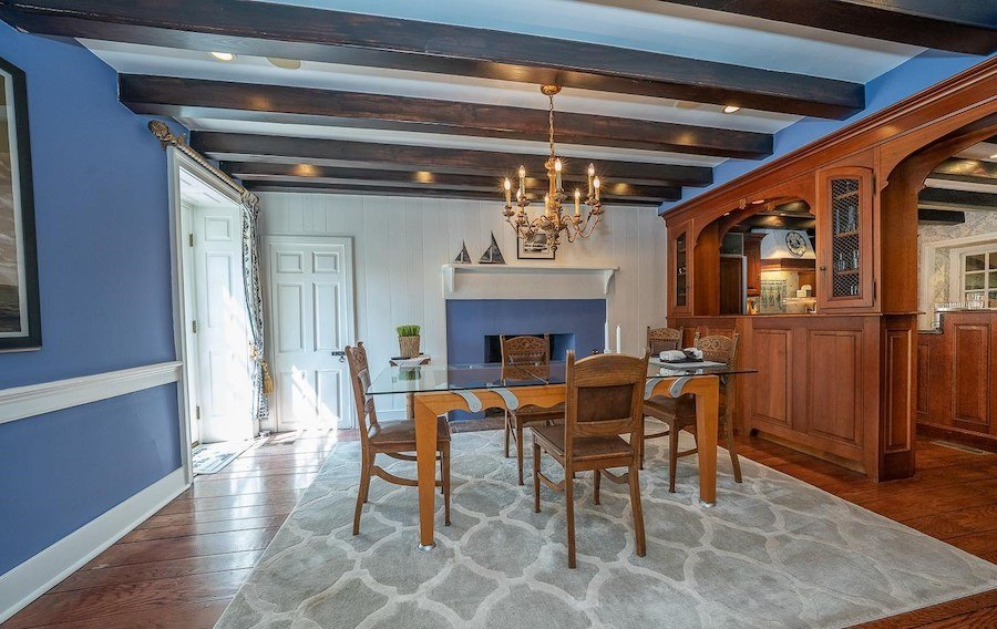 house for sale chester springs colonial manor dining room