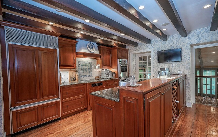 house for sale chester springs colonial manor kitchen